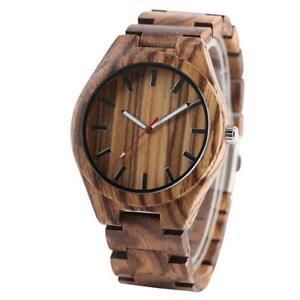 Natural-Stripe-Wood-Watches-Quartz-Wooden-Watch-Wristwatch-Bracelet-Gift-Decor