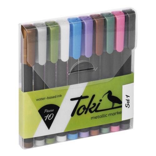 Set 1 Toki Metallic Marker 10er