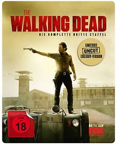 Steelbook-the-Walking-Dead-Complete-3-Third-Season-TV-Series-5-Blu-Ray-Box-New