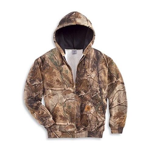 NEW  CARHARTT WorkCamo Midweight Zip Front Hooded Sweatshirt Sweatshirt Sweatshirt K289-977 LARGE a5a440