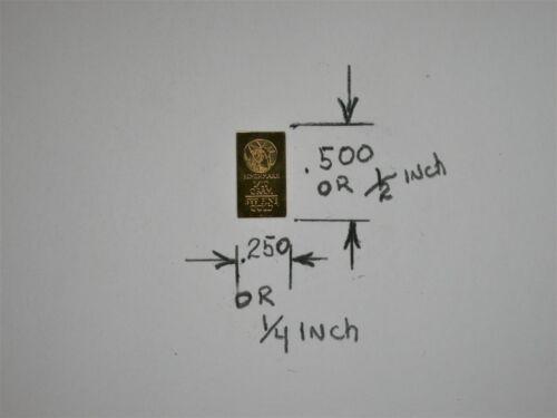 1//10 Gram Gold Bar  24K 999.9 Fine Gold Bullion Bar in sealed cert card revg