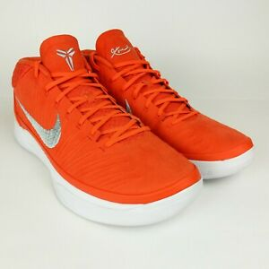 free shipping 6e4d5 ee538 Image is loading Nike-Kobe-AD-TB-Promo-Orange-Blaze-Silver-