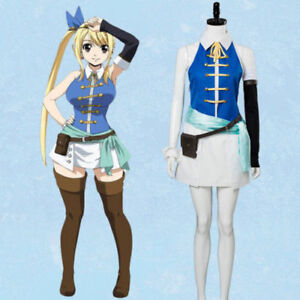 Fairy Tail Lucy Heartfilia Cp Cosplay Costume Outfit Custom Made Ebay