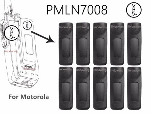 10x PMLN7008A Belt Clip for Motorola XIRP6620 XIRP6600 Portable Radio