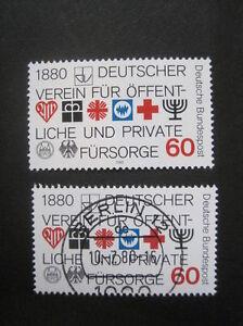 Bund-BRD-MiNr-1044-postfrisch-amp-Ersttag-Berlin-voll-gestempelt-T-600