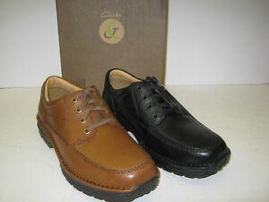 cordones 'sidmouth Negro o Way milla' con Oferta callejón Zapato Clarks hombre marrón para YqI6OA