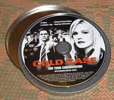 COLD CASE PROMO DVD Kathryn Morris: 4 episodes/Season 3 ~ 9 SPRINGSTEEN SONGS -