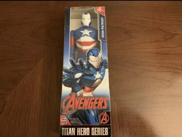 """Action Figure Marvel Titan 12/"""" Iron Man Hasbro 2014"""