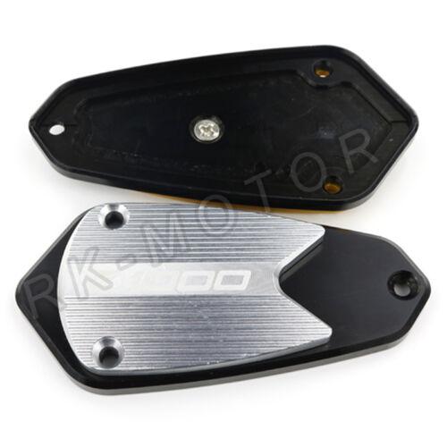 Billet Front Brake Clutch Reservoir Fluid Cap For Kawasaki Z1000 2010-2016