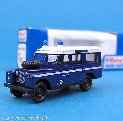Roco H0 1343 LAND ROVER THW Geländewagen Technisches Hilfswerk HO 1:87 OVP