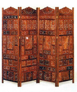 Image Is Loading HAND CARVED SOLID WOOD SCREEN ROOM PARTITIONS