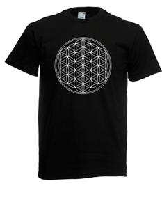 Herren-T-Shirt-Blume-des-Lebens-I-Spruche-I-Fun-I-bis-5XL