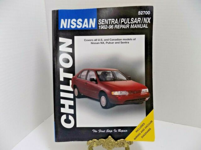 Nissan Sentra Pulsar Nx Repair Manual 52700 1982
