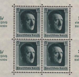 DEUTSCHES-REICH-Mi-Block-9-postfrisch-MNH-ansehen-MW-320-VKD-0249-2