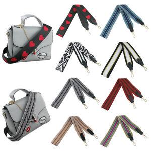 Vintage-Women-Jacquard-Handbag-Bag-Strap-Replacement-Crossbody-Shoulder-Bag-Belt