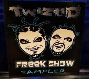 Twiztid  - Freek Show Sampler CD insane clown posse dark lotus freekshow blaze