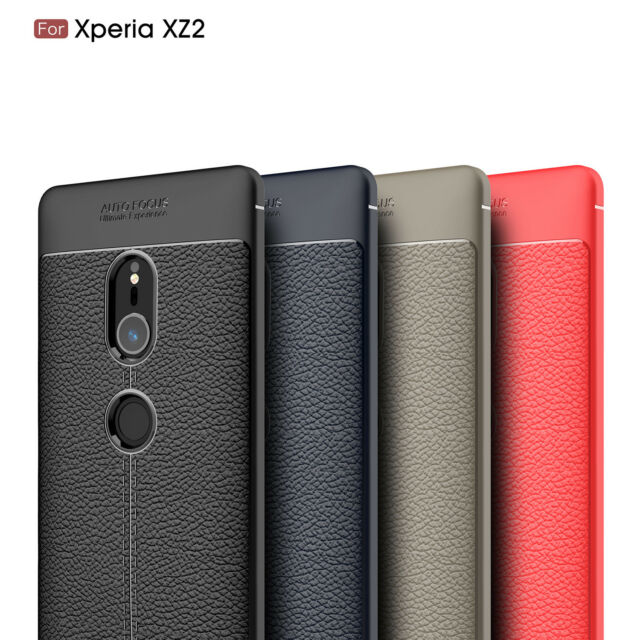 top fashion 19f9d 7e317 For Sony Xperia XA1 XZ2 XZ3 Shockproof Rugged Rubber TPU Protective Case  Cover