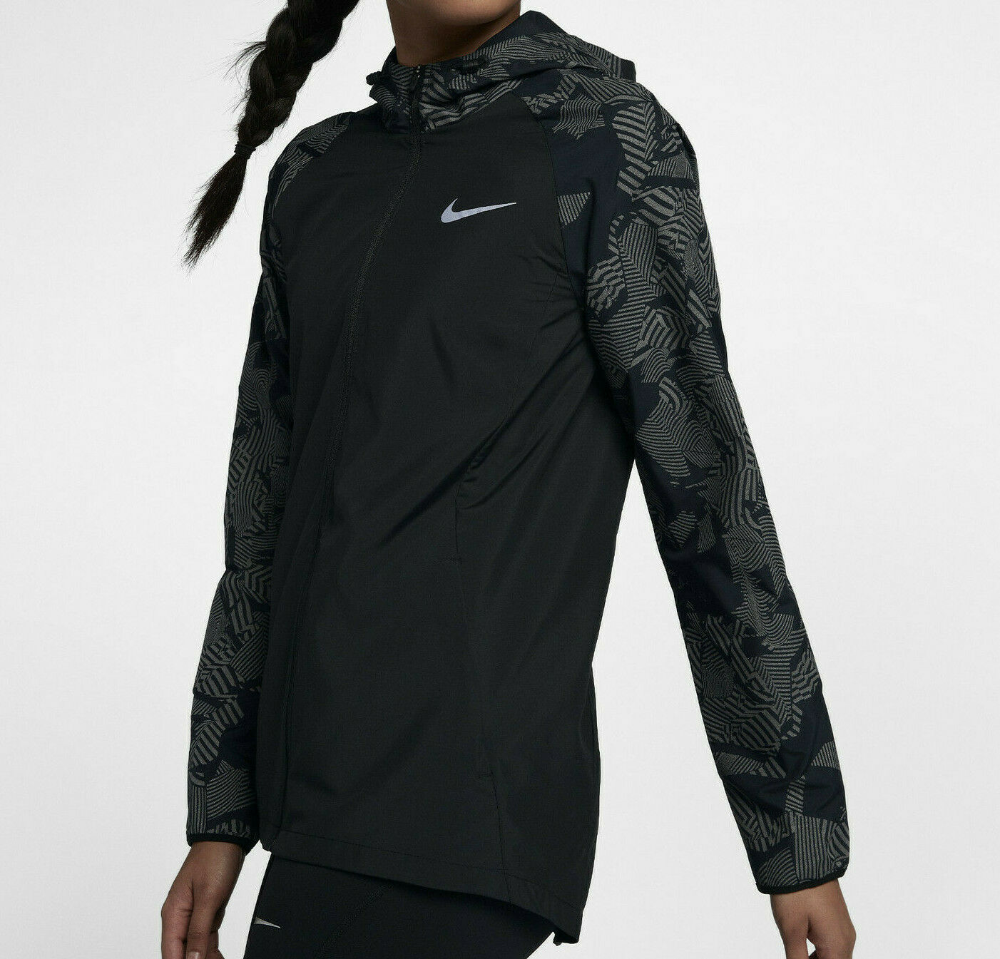 Nike HyperShield Flash Men's Running Jacket hologram light