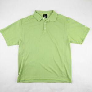 Nike-Golf-Men-039-s-Dri-Fit-Polo-Golf-Shirt-Green-Casual-Polyester-Size-Large
