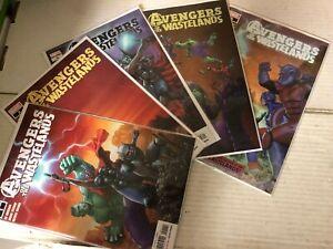 AVENGERS-OF-THE-WASTELANDS-2020-Marvel-1-5-NM-Full-Run-Lot-Spiderman-Thor