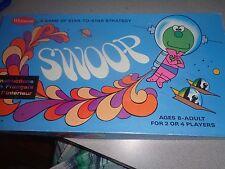 Rare Vintage Swoop Board Game Whitman 1969 Space Alien Kids