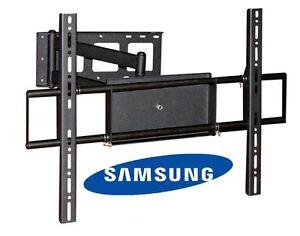corner friendly full motion samsung tv wall mount 40 42 50 52 55 60 70 lcd led ebay. Black Bedroom Furniture Sets. Home Design Ideas