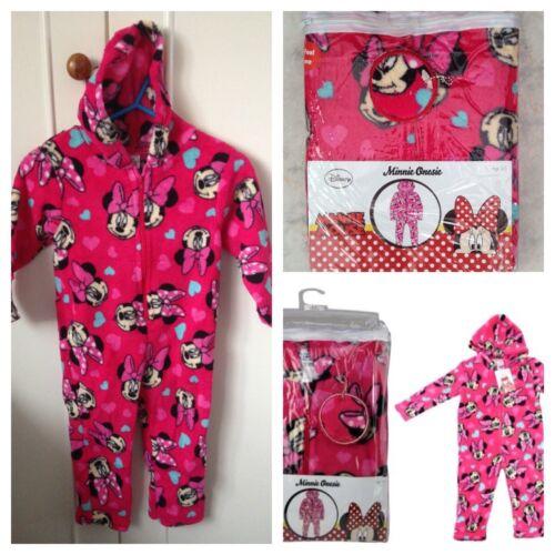 Minnie Mouse Childrens One-Piece// Jump Suite// PJ's Ages 6-7