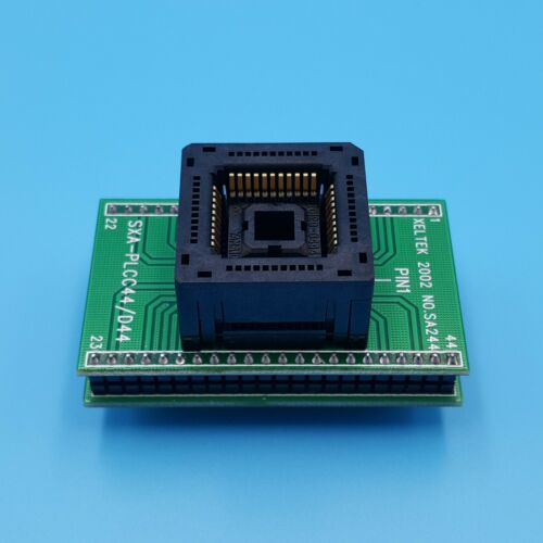 PLCC44 To DIP44 IC120-0444 Pitch 1.27mm IC Programmer Adapter Test Socket