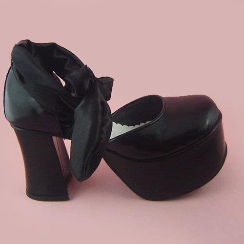 schwarz schwarz gothic Schuhes Schuhe gossip girl Stöckel goth Rozen Maiden cosplay