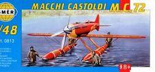 MACCHI CASTOLDI MC.72 (SCHNEIDER TROPHY RACER - ITALIAN AF MKGS) 1/48 SMER
