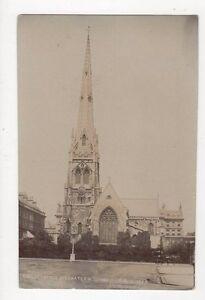 Christ-Church-Bayswater-W-London-Vintage-RP-Postcard-216a
