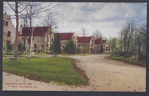 1915 OFFICERS QUARTERS, FORT SHERIDAN ILL
