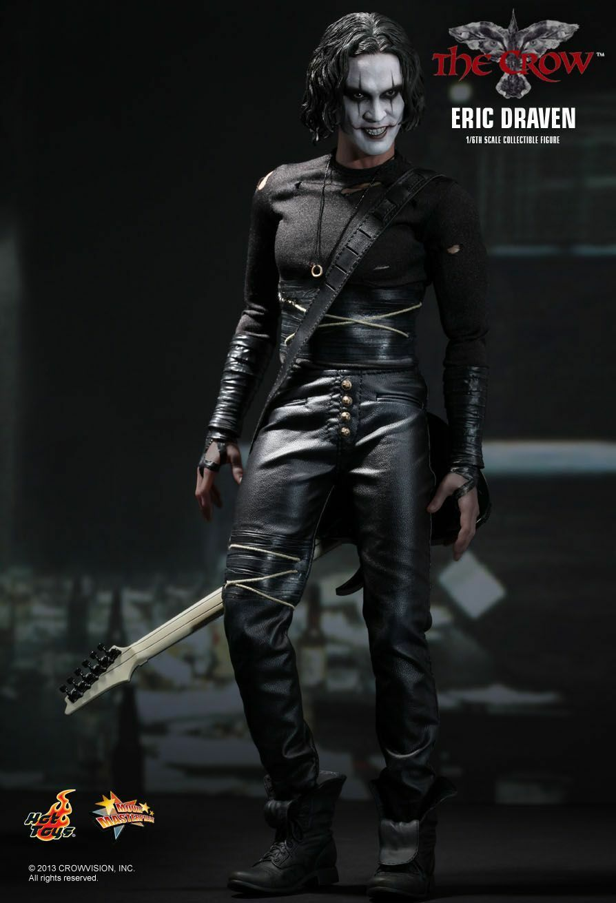 HOT TOYS MMS210 THE CROW: ERIC SCALE DRAVEN SIXTH SCALE ERIC COLLECTIBLE FIGURE 4f8d18