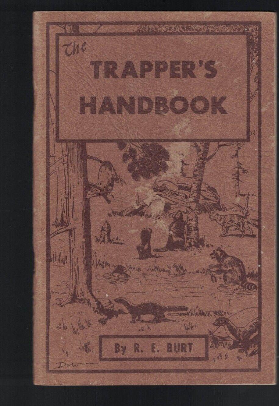 El Trampero's Handbook por re Burt SC 1959 Dalton NY de captura