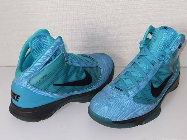 NIKE HYPERRIZE NBA ALL STAR GAME 2010 Sneakers shoes bluee Size US 9.5