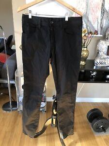 James-Perse-5-Pocket-Cotton-Stretch-Twill-Sz-30-Black-Msrp-225