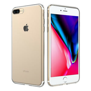 """Protective Case Ultraslim Silicone Apple IPHONE 8 Plus 5.5 """" TPU Extra Thin Case"""