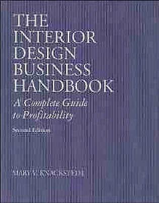Interior Design Business Handbook by Knackstedt, Mary V. -ExLibrary