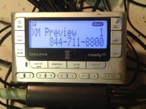 Delphi Roady XT XM  Receiver ONLY SA10177 PRE 2006 STRONG FM transmit ROADYXT B