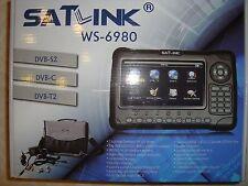 STRUMENTO SATLINK WS-6980 COMBO SATELLITE SD+HD+ TERRESTRE SD+HD  NO DAZI NO IVA