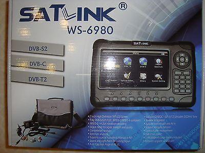 Misuratore WS-6980 COMBO SATELLITE SD+HD+ TERRESTRE SD+HD  NO DAZI, NO IVA