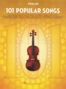 101 Chansons Populaires Pour Violon Partitions Livre Michael Jackson Billy Joel Beatles-afficher Le Titre D'origine Vente En Ligne Du Dernier ModèLe En 2019 50%