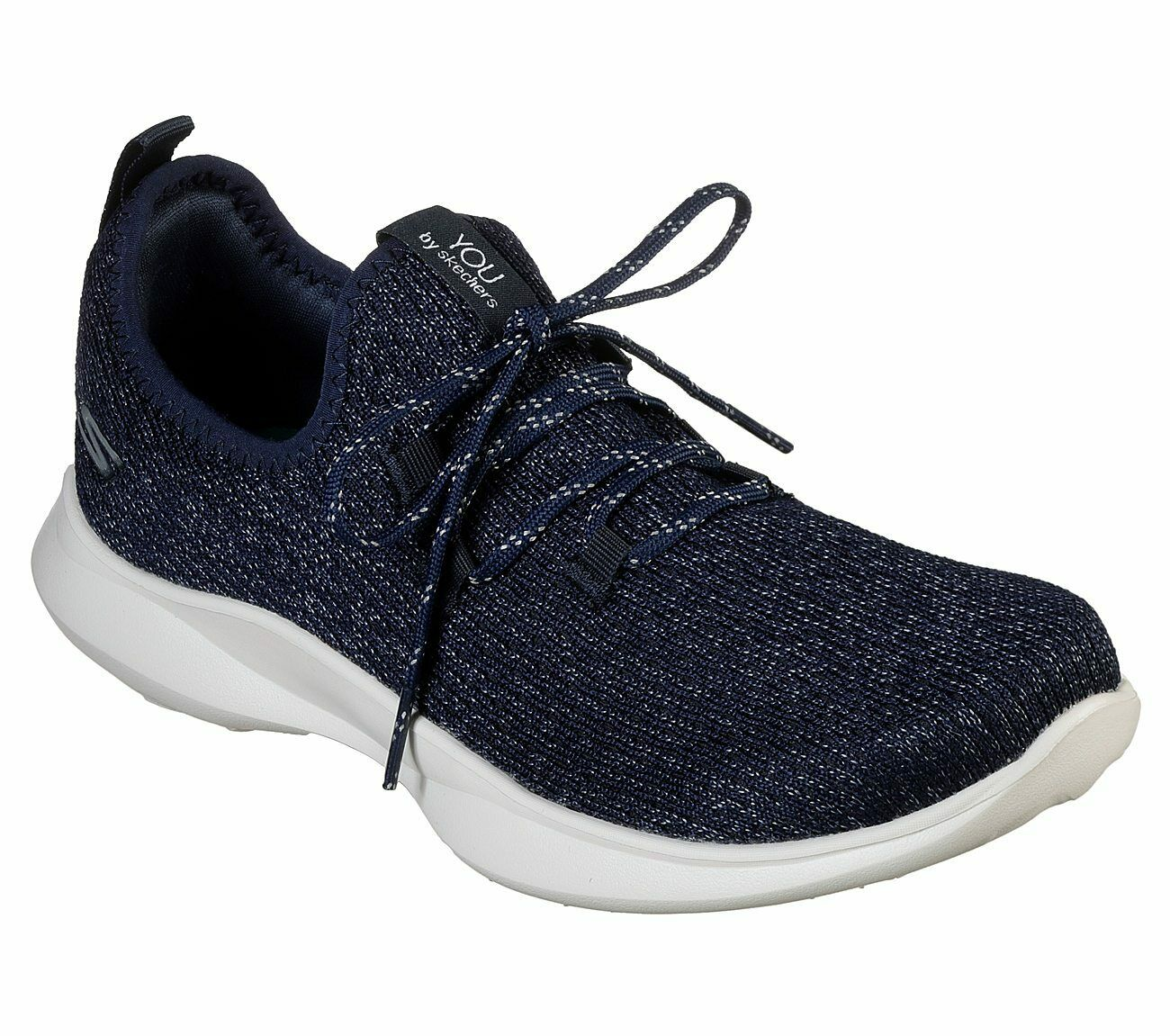 Skechers You Navy shoes Women Slip On Sporty Comfort Casual Walk Flex Mesh 15851
