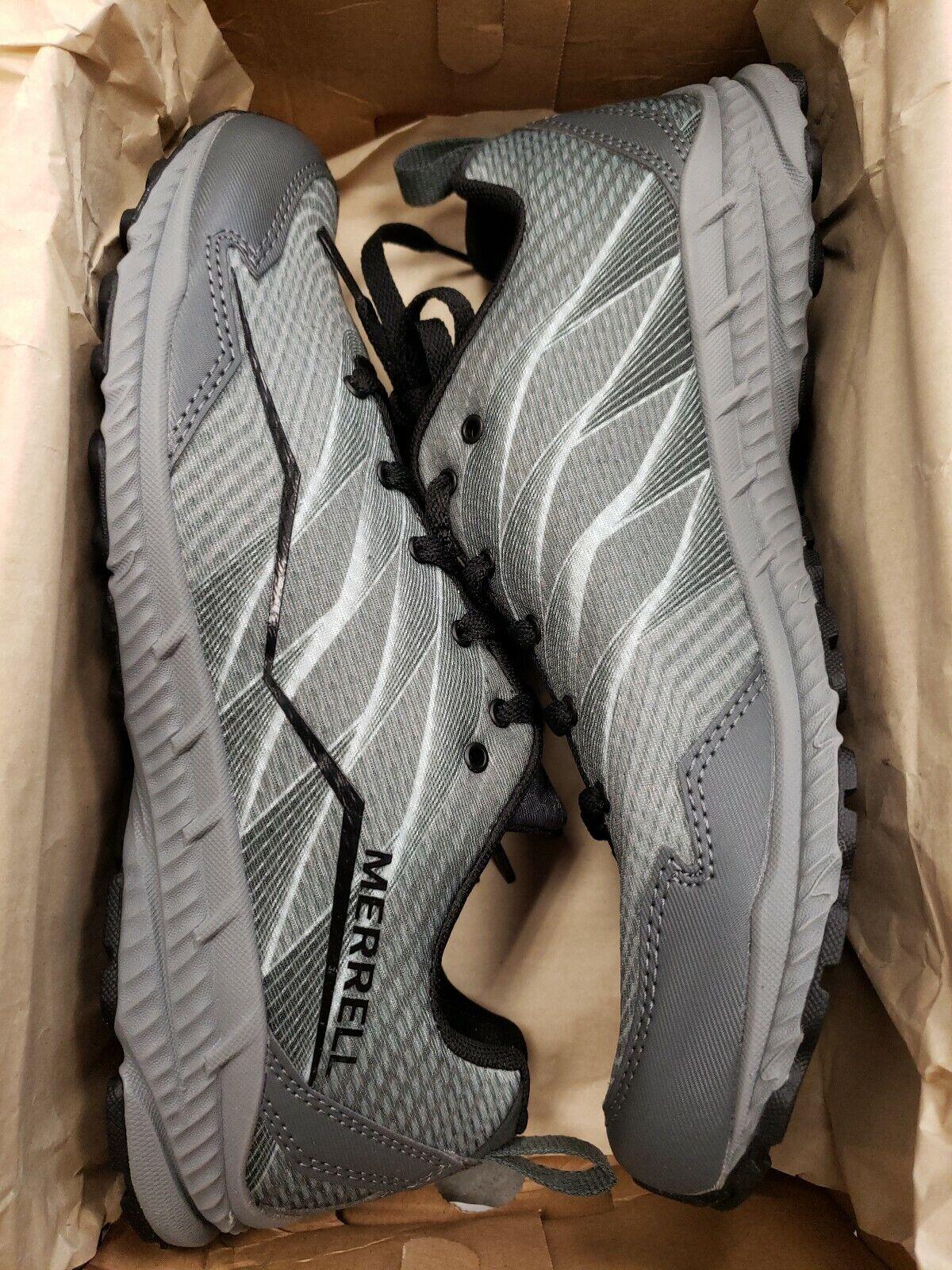 Merrell Para  Hombre Trail trituradora de trail Corriendo hombre talla  8M Color gris retorno Set 2  venta caliente