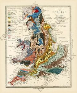 antique-geological-map-England-Wales-R-Murchison-1842-British-geology-art-poster