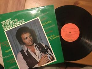 Merle-Haggard-The-Best-Of-The-Best-LP-CAPITOL-Germany-from-1972-VG-Vinyl-NM
