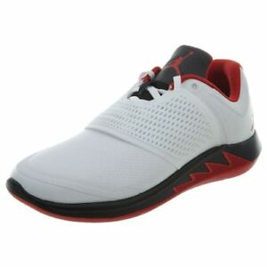 2bcdd4049ad2 Jordan Grind 2 Fire Red Mens AO9567-100 White Black Athletic Shoes ...