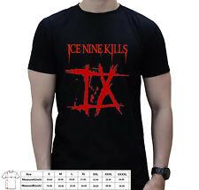 Ice Nine Kills The Silver Scream Metalcore Band Logo Mens T-shirt USA Size