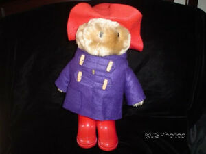 Paddington Bear 13 Inch Eden Toys Vintage 1981 Original Boots and Outfit