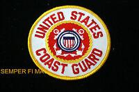 US COAST GUARD HAT PATCH USCG EMBLEM LOGO SIGN SEMPER PARATUS VETERAN PIN UP WOW